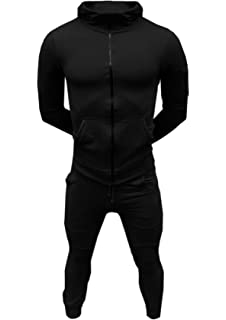 SA Fashions Mens Training Tracksuit Corduroy Hoodie Joggers Gym Suit Top Bottom Patch Panel Cotton Full
