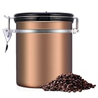 eecoo Kaffeedose, Kaffeedose Luftdicht, Kaffeedose Edelstahl, Kaffeebehälter 1.5L or 1.8L