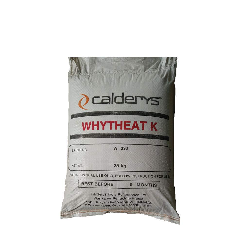 60% Alumina Hydraulic Bonding Refractory Cement Dense Castable 55 Lbs by Unknown