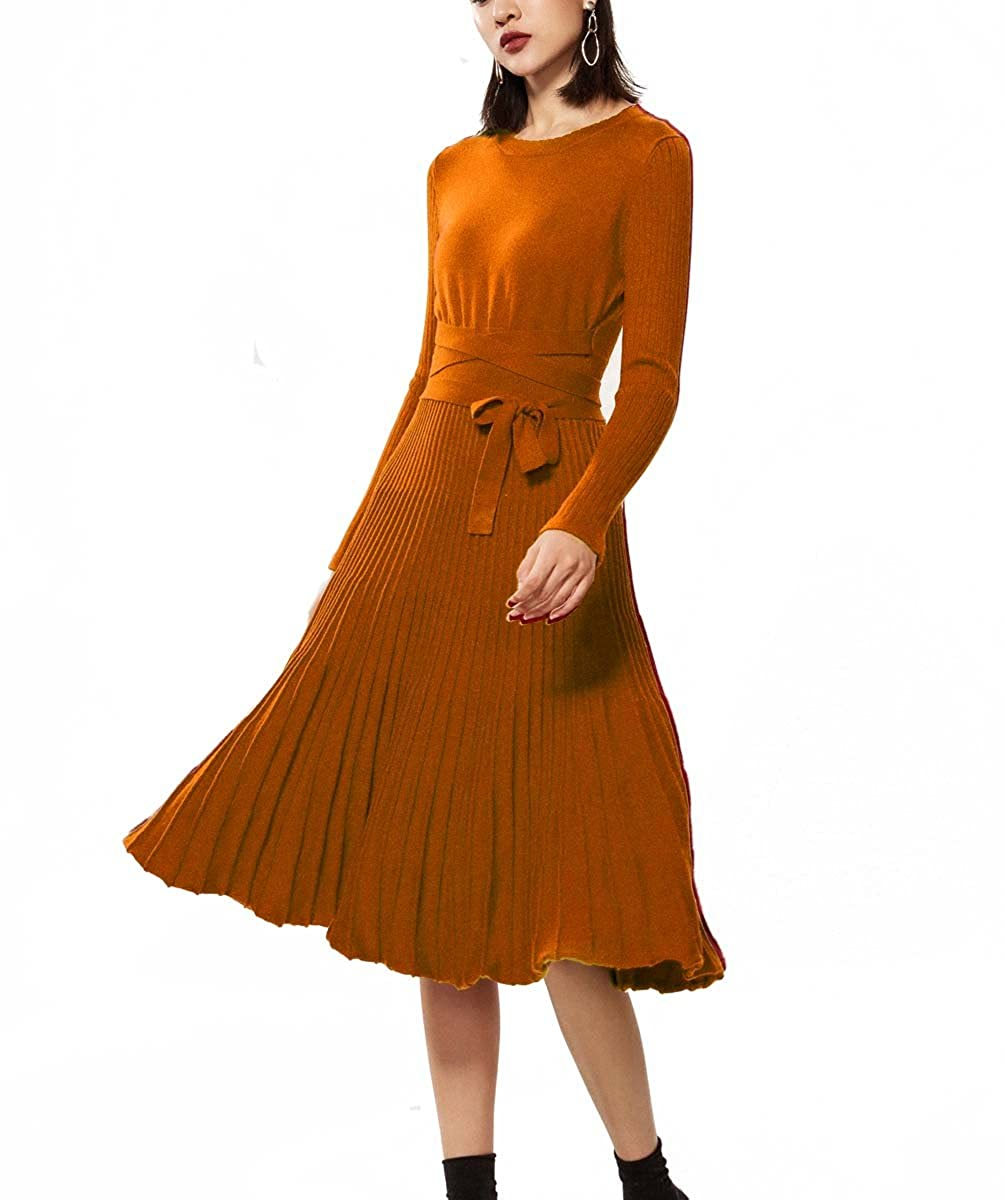 FINCATI DRESS レディース B079ZPH91F  オレンジ Small