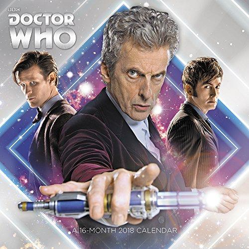 2018 Doctor Who Mini Calendar (Day Dream)
