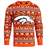 Denver Broncos 2016 Aztec Print Ugly Crew Neck Sweater
