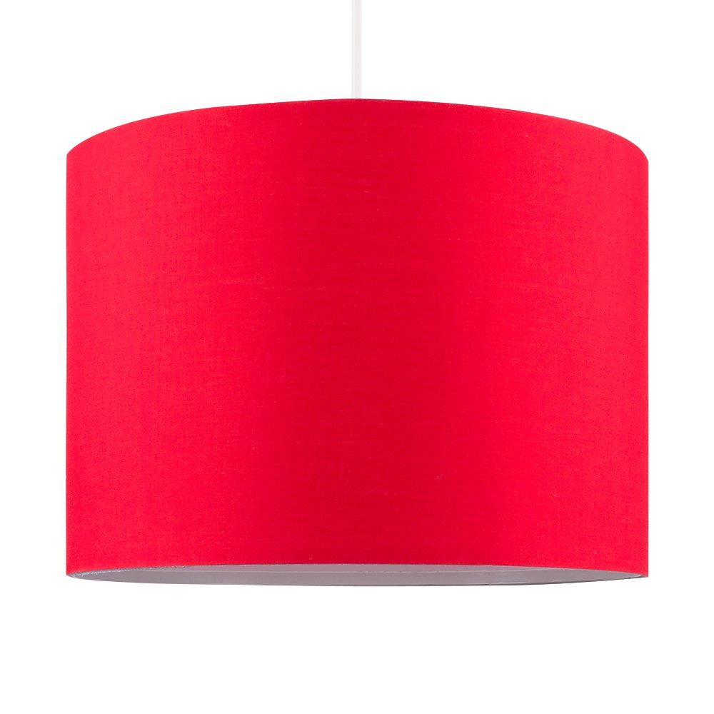 Lampara colgante de salon Lampara cocina Lampara habitación economica resistente barata mejor precio roja Todo de rojo