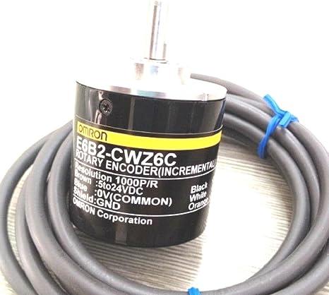 One Year Warranty! Omron Rotary Encoder E6B2-CWZ3E 1500P//R,New in Box