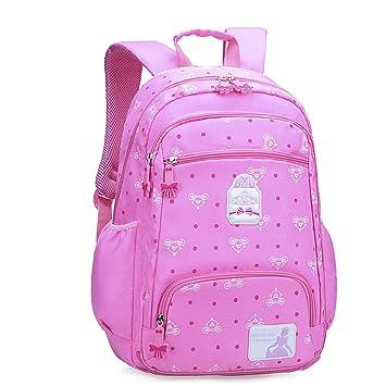 Girls Backpack Shoulder Bag Kids School Book Bags Rucksack Children Princess 6+