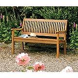 Bosmere English Garden 48-inch Wooden Bench