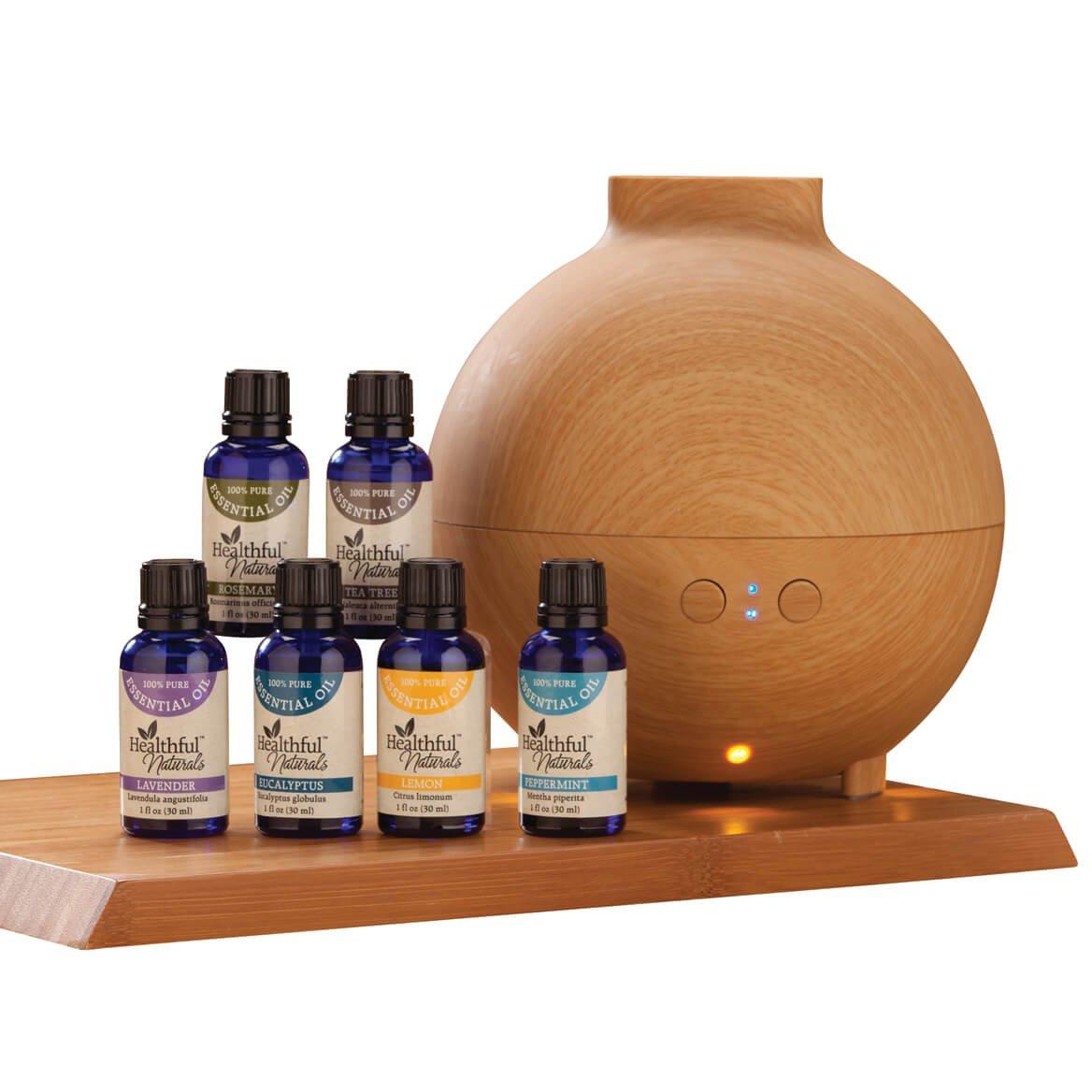 HealthfulTM Naturals Starter Kit & 600 ml Diffuser
