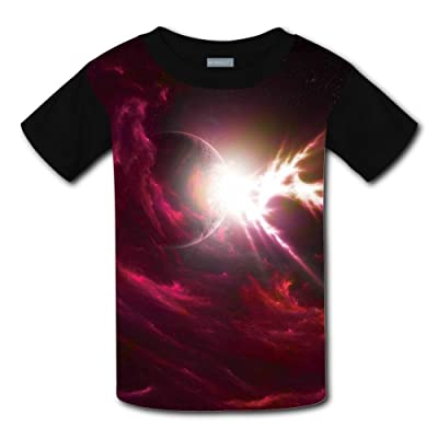 Mmm fight Glittering Star Light Weight Tee Shirts 2017 The Latest Version For boysfree Postage