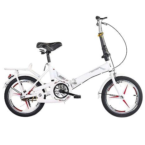 SYCHONG Bicicleta Plegable, 20 Pulgadas Y Trabajadoras para ...