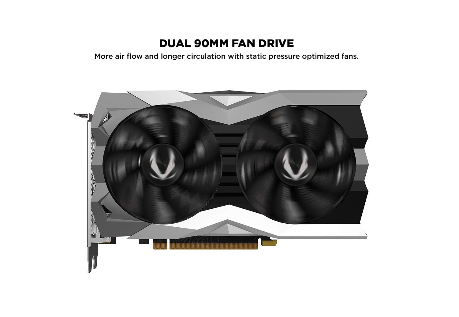 ZOTAC Gaming GeForce RTX 2060 Twin Fan 6GB GDDR6 192-bit Gaming Graphics Card, Super Compact, IceStorm 2.0, ZT-T20600F-10M by ZOTAC (Image #4)