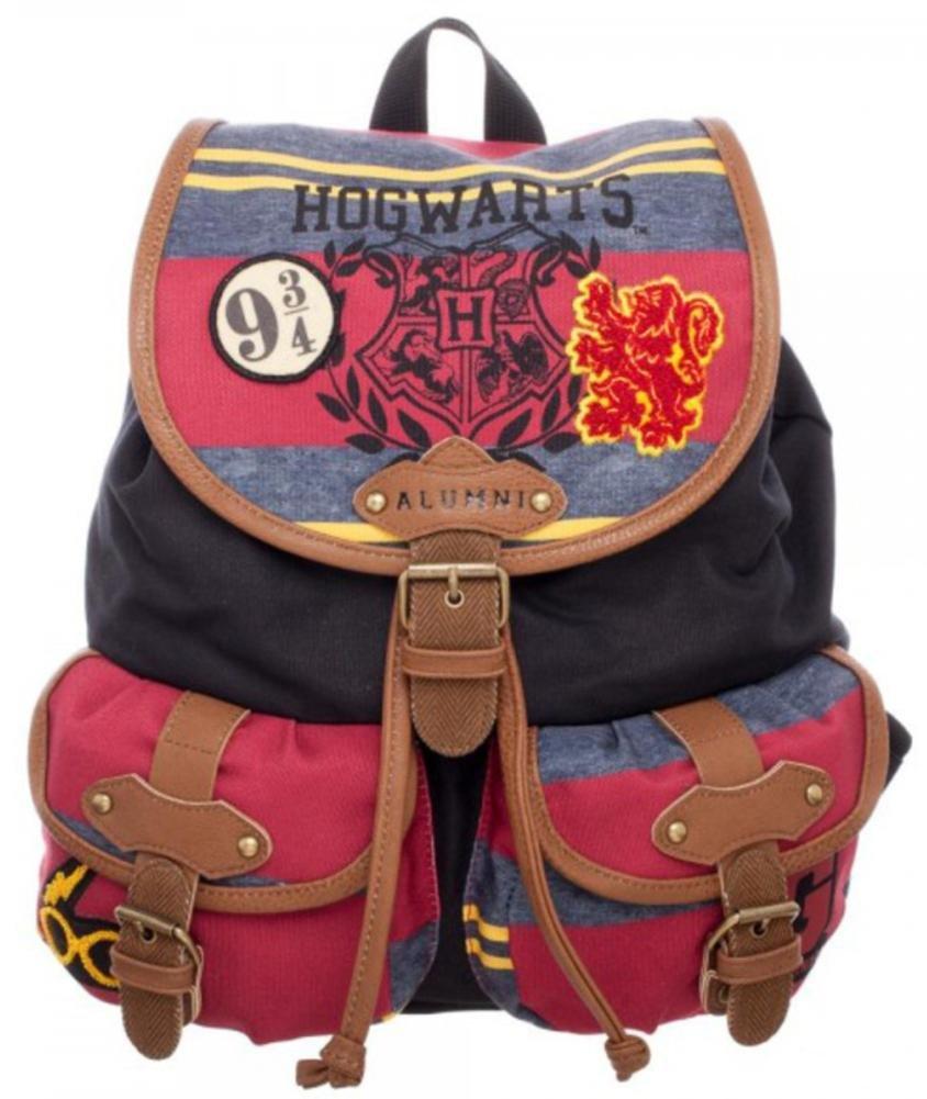Harry Potter Hogwarts Alumni Knapsack Backpack 14 x 18in