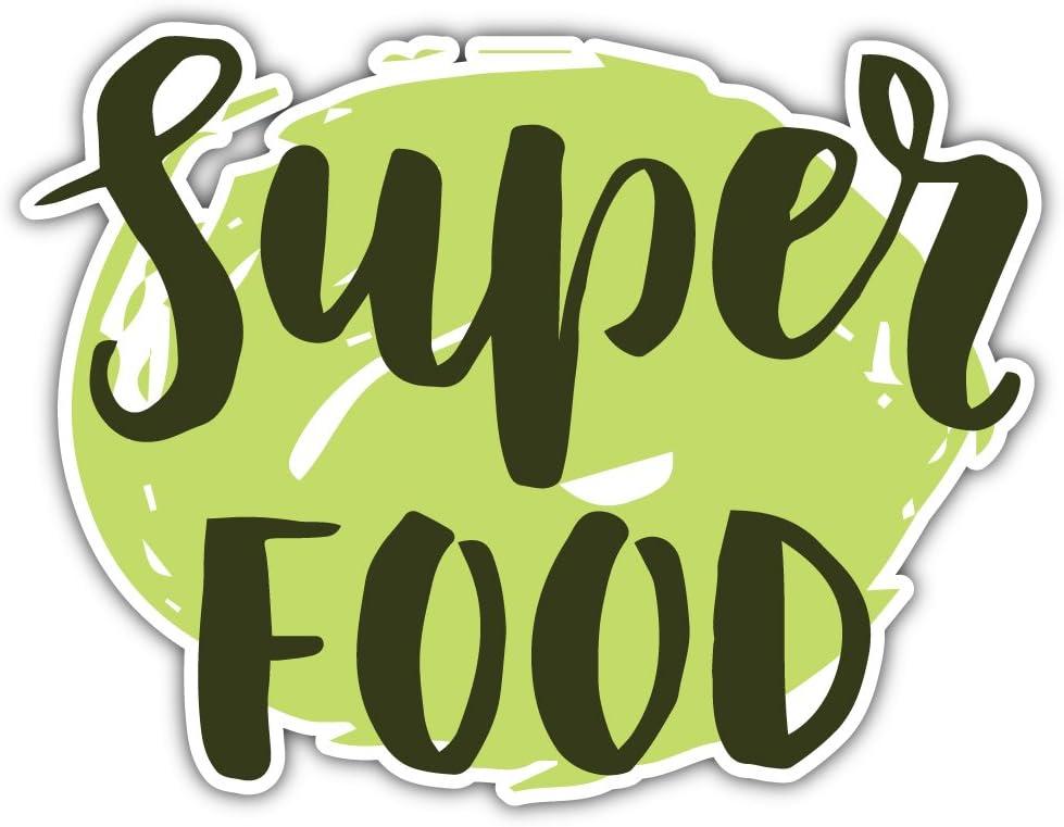 Super Food Organic Label Bumper Sticker Vinyl Art Decal for Car Truck Van Window Bike Laptop
