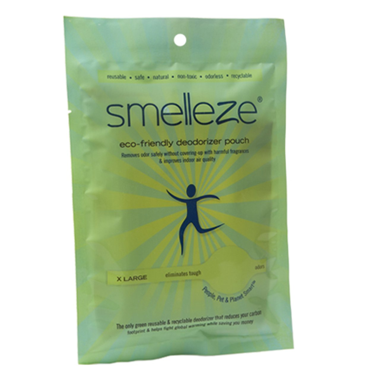 SMELLEZE Reusable Nail Salon Smell Removal Deodorizer Pouch: Kills Odor  Without Chemicals in 300 Sq  Ft