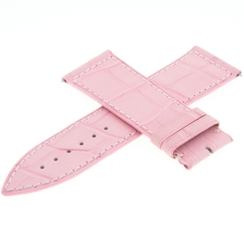 Franck Muller Geneve Leder 22 A Pink 24–22 mm Armbanduhr Band