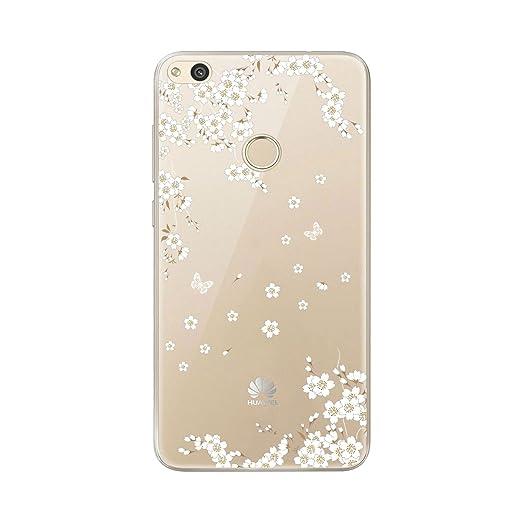 22 opinioni per Cover Huawei P8 Lite 2017, AILRINNI Silicone Custodia Trasparente Morbida Case