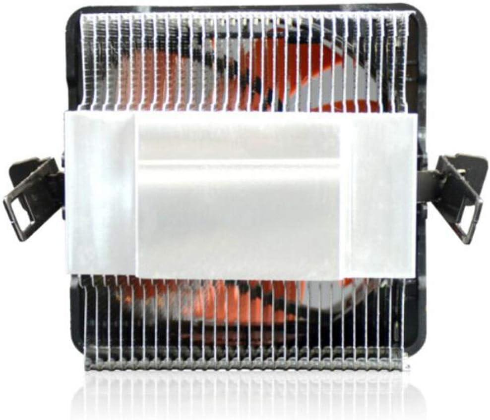 Color : Black Hongyushanghang CPU Cooler CPU Fan 8cm // with Thermal Grease Multi-Platform CPU Cooler
