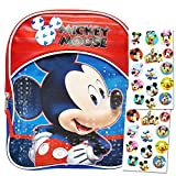Disney Mickey Mouse 11' Mini Toddler Preschool Backpack