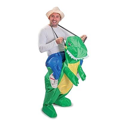 Funtime Gifts PT8300 - Disfraz hinchable de dinosaurio T-Rex ...