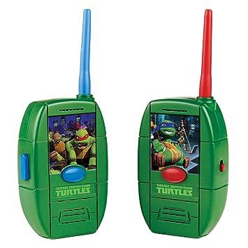 Amazon.es: TMNT Tortugas Ninja 14092021 - Walkie Talkie