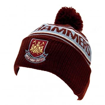 6e6d032e0d0 West Ham United FC Official Football Gift Ski Hat - A Great Christmas    Birthday Gift