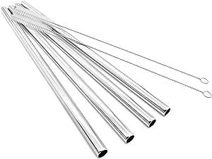 Super Big Drinking Straws Set 12