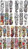 50 sheets wholesale extra large full arm sleeve tattoo 18'' extra large wholesale tattoo