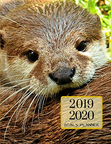 2019 2020 Sea Otters 15 Months Daily Planner: Academic Hourly Organizer In 15 Minute Interval; Appointment Calendar With Address Book & Note Section; Monthly & Weekly Goals Journal With Quotes ()