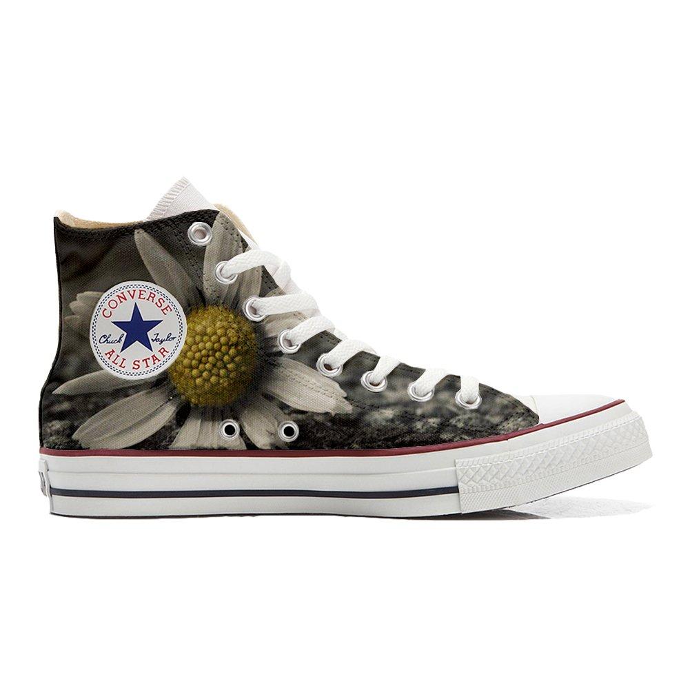 Mys Converse All Star Hi Customized personalisiert Schuhe Unisex (Gedruckte Schuhe) Multi face -
