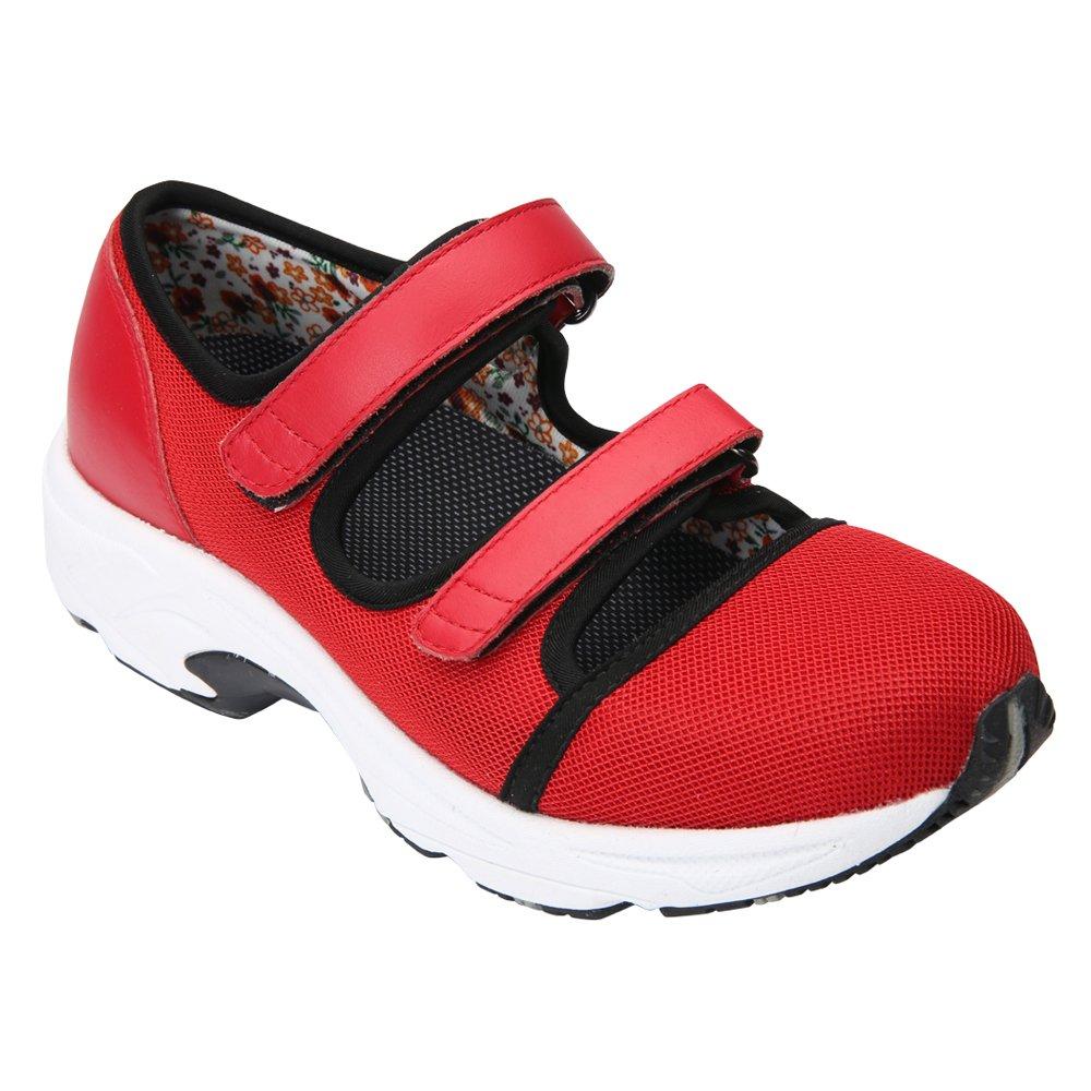【メーカー包装済】 [Drew Shoe] レディース B017VLYRBS W 9 W (D)|Red Sport Sport Sport Mesh Red Sport Mesh 9 W (D), 北上市:0bcc0763 --- arianechie.dominiotemporario.com