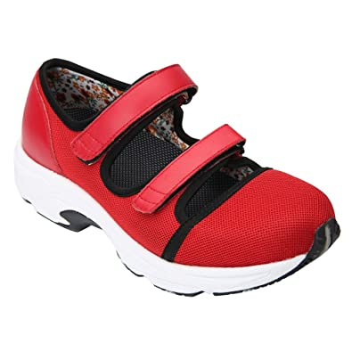 Drew Women's Solo Athletic Shoes D(W) Red Sport Mesh Women's Shoe 9.5 D