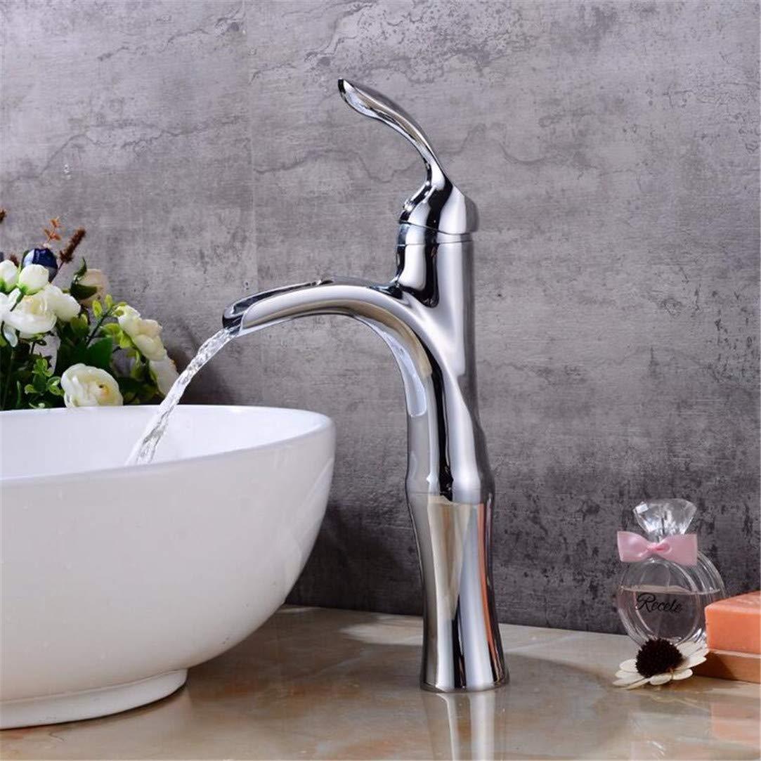 Sink Faucet Basin Mixer Brushed Waterfall Basin Faucet Sink Mixer