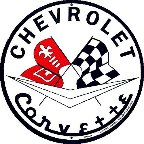 - Signs 4 Fun Sracc Corvette Round Sign