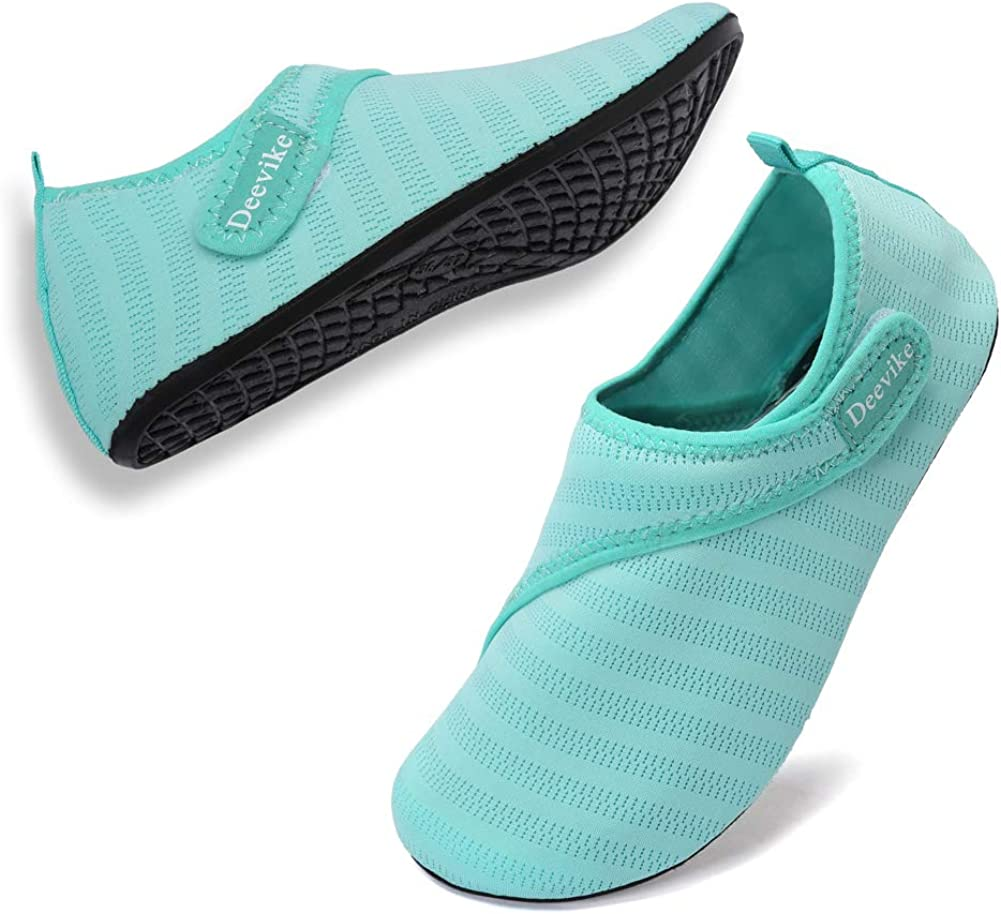 Deevike Womens Mens Water Shoes Quick-Dry Barefoot Aqua Socks for Outdoor Beach Swim Surf Yoga Exercise