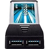 BUFFALO Express Card用 増設インターフェースカード USB3.0&2.0 2ポート搭載 IFC-EC2U3/UC2