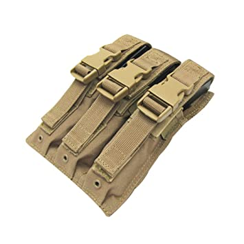 Airsoft Viper Mp 5 Triple MAG POUCH Coyote MP 7 magazine MOLLE POUCH