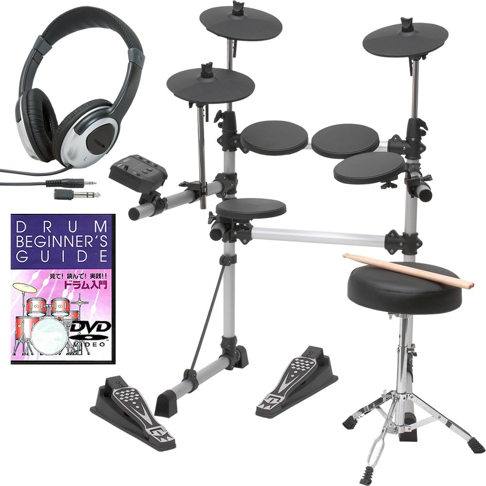 新着 電子ドラム B008BF3A8U 電子ドラム MEDELI DIY DD-402KII DIY KIT【教則DVDドラムイスヘッドフォン付きセット】(9757406801) B008BF3A8U, ファッションアクセサリー ノア:823a2350 --- a0267596.xsph.ru
