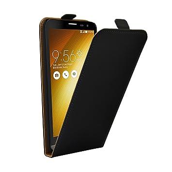 Membrane - Ultra Slim Negro Funda Compatible con ASUS ZenFone 2 Laser ZE600KL 6.0