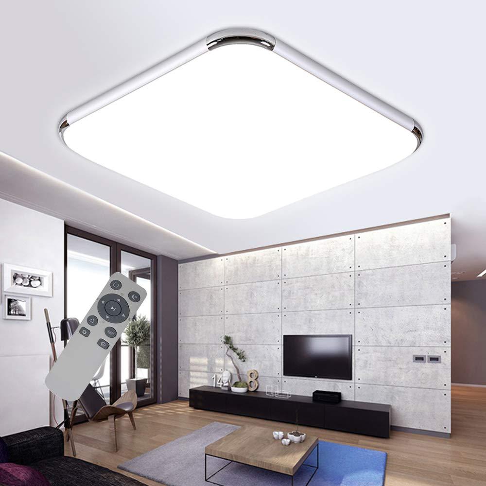 VWANT Deckenlampe LED Deckenleuchte 72W Wohnzimmer Lampe ...
