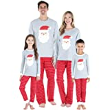 Sleepyheads Holiday Family Matching Pajama PJ Sets, Snowflakes, Santa, Christmas