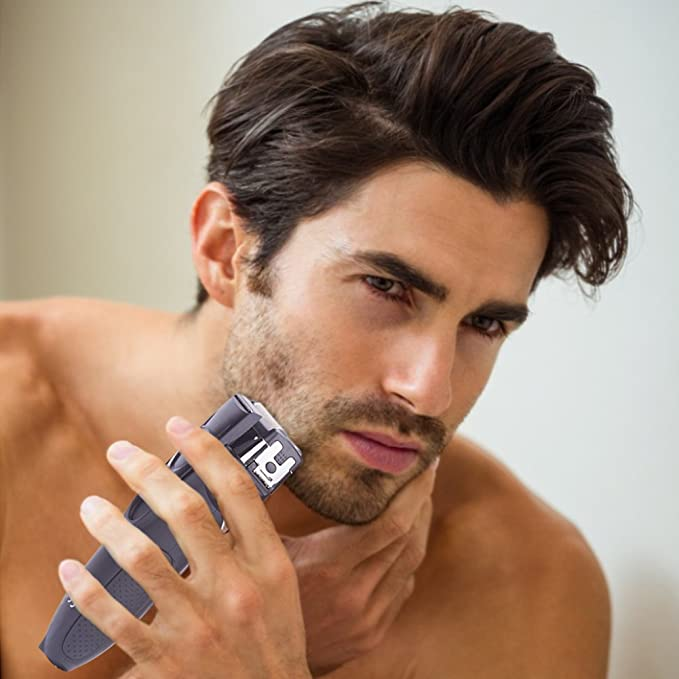 SURKER Afeitadora eléctrica de lámina para hombre, en húmedo y ...