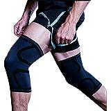 膝サポーター 【2個セット】医療用 痛み 薄型 保温 関節 靭帯 筋肉保護 損傷回復 通気性 伸縮性 左右兼用 怪我防止 男女兼用 3カラー