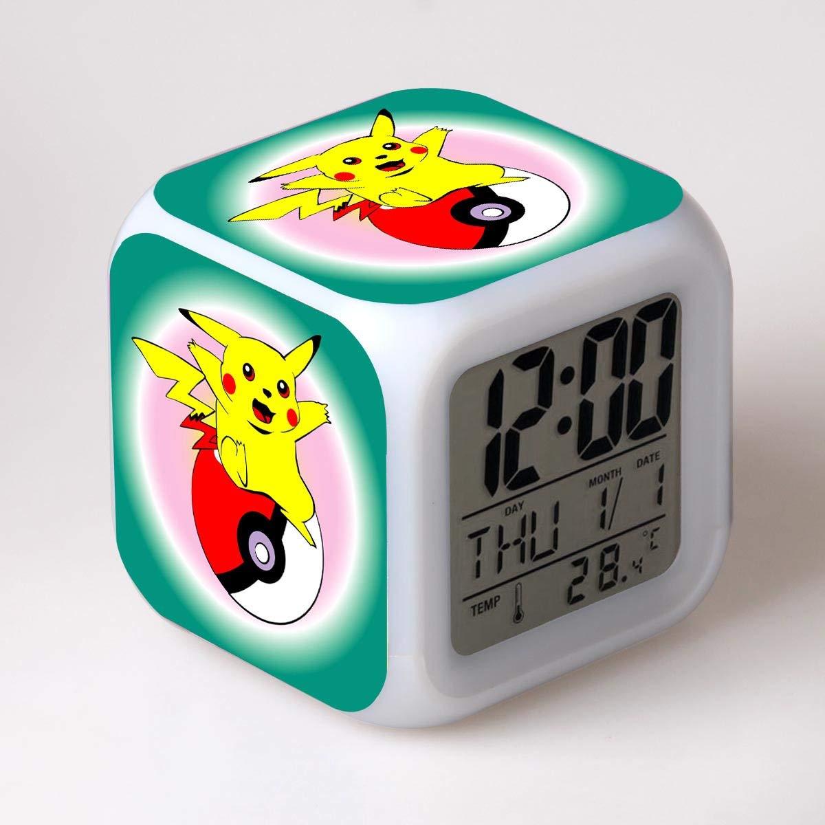 HHKX100822 Wecker Pokemon Pokemon Pikachu Pokemon Poque Traum Wecker N