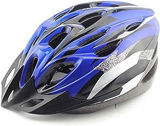 CDKJ del Casco Unisex Bici del Casco della Bicicletta Luce Confortevole Casco di Sicurezza della Strada della Montagna del Casco della Bici Blu e Nero