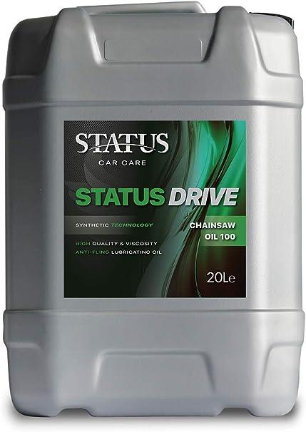Status Car Care - Aceite para Cadena de Coche, 100 Unidades, 20 litros, Ideal para Motosierra de Gasolina y eléctrica, 20 L: Amazon.es: Coche y moto
