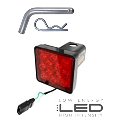 APSG LED | Hitch Receiver Cover | Brake Turn Running Light | Trailer Tow: Automotive