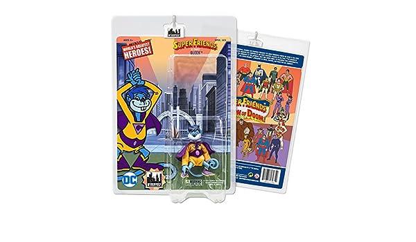 Gleek Super Friends Retro Action Figures Series Loose in Factory Bag