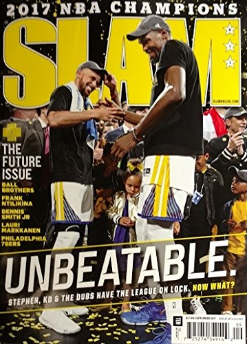Slam Magazine (September, 2017) Unbeatable 2017 NBA Champions Golden State Warriors