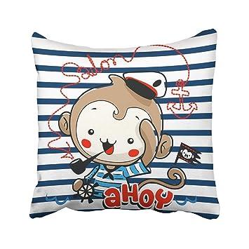 Amazon.com: RPABR - Funda de almohada personalizable con ...