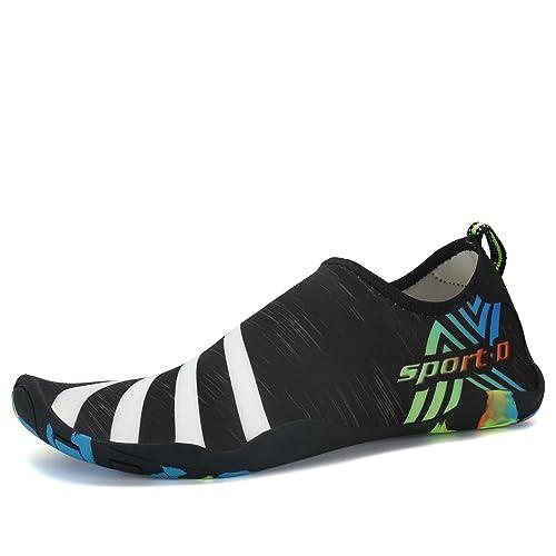 Water Shoes For Men Comfy Aqua Socks Women Barefoot Skin Running Shoe