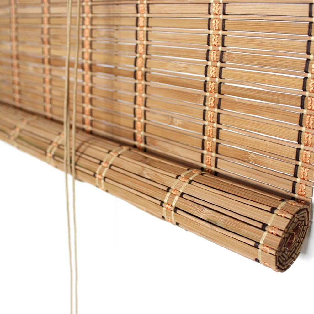 WGE Persianas enrollables estores Exterior Pérgola Roller Shade, Bambú Persianas Enrollables por Patio Trasero Cubierta, Bloque de Filtrado de Luz 60% Rayos UV, Patio Roll Up Shade (Size : 135×280cm): Amazon.es: Hogar